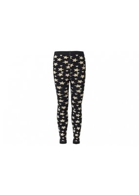 Le Big Hippe legging met metallic sterren - gold