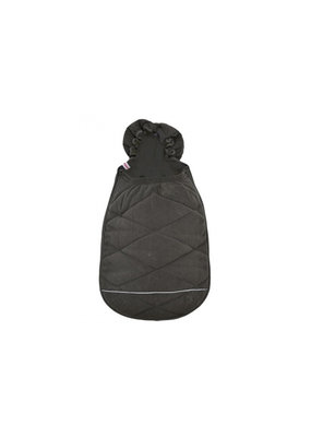 Lodger Mini bunker fleece voetenzak (0-12m) - coal