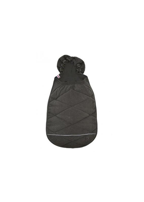 Lodger Mini bunker fleece voetenzak (0-12m) - coal