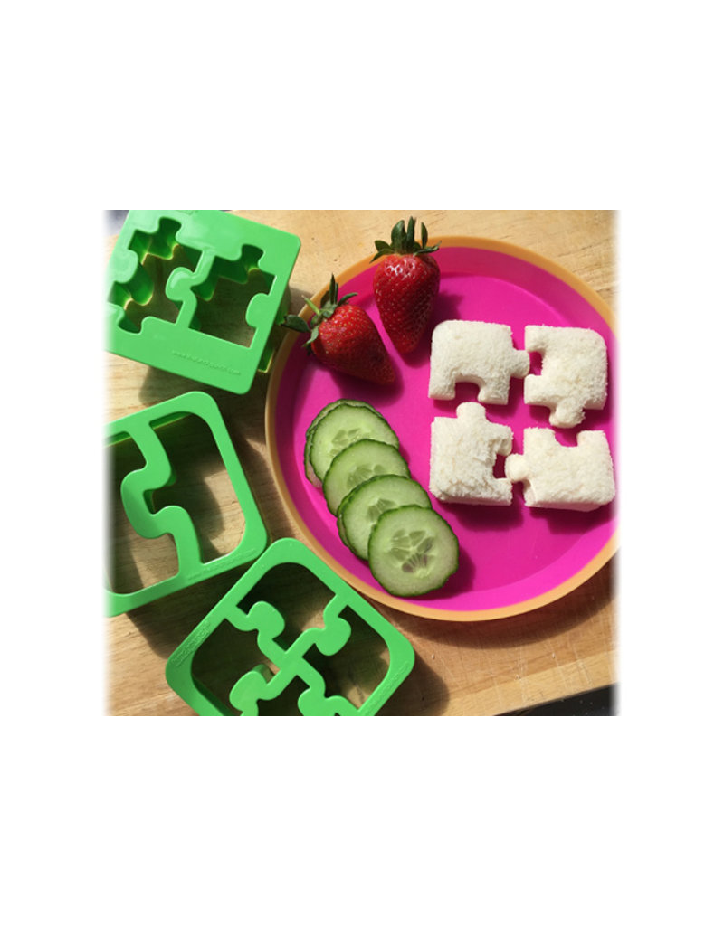 Lunch punch Brooduitstekers Puzzel Match & Munch