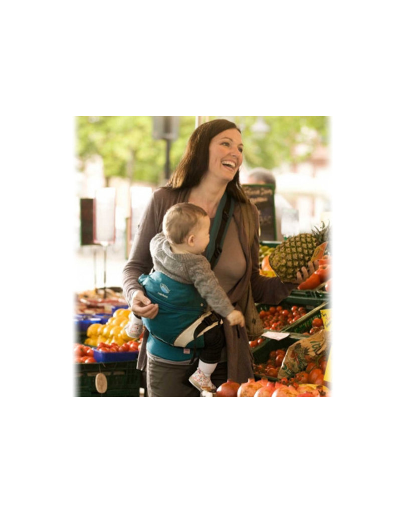 Manduca Veilige babydrager - petrol