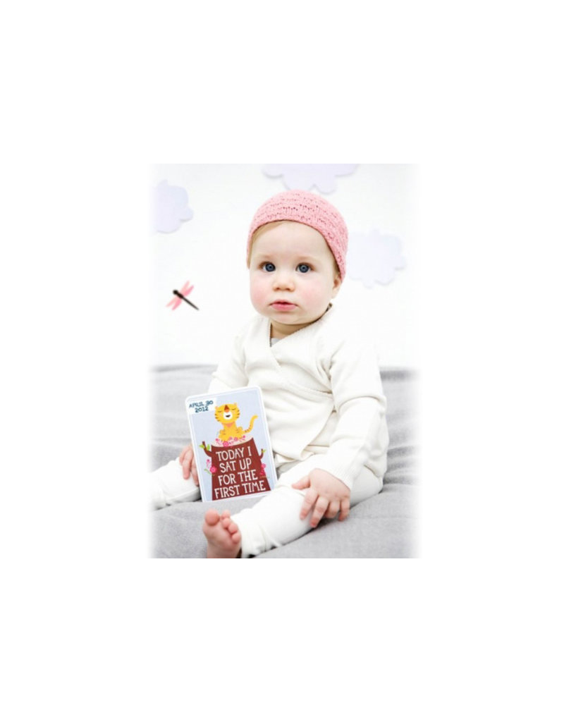 Milestone Baby Cards Baby Cards - nederlands
