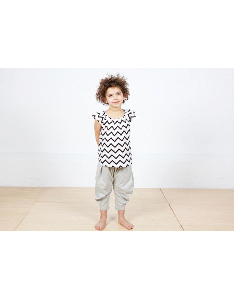 Nobodinoz Ceylon pyjama - sand white stars