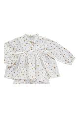 Nobodinoz Osaka short pyjama - mustard stars