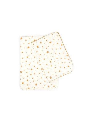 Nobodinoz Dekbedovertrek ledikant - mustard stars