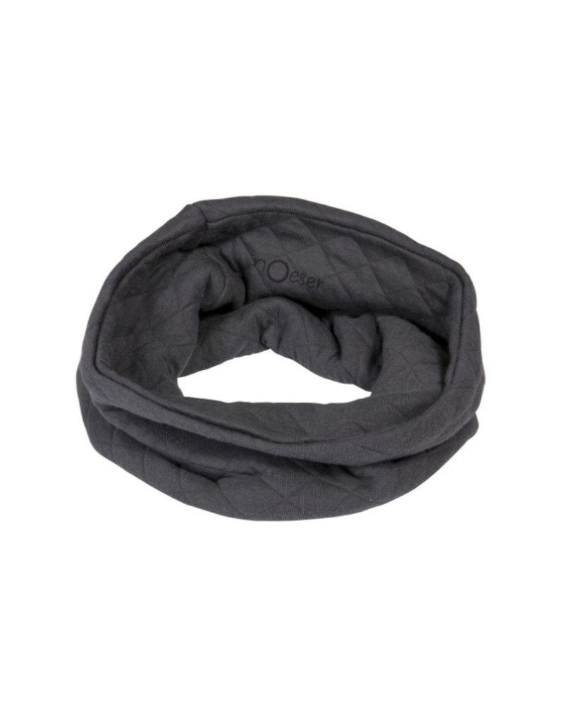 nOeser Ronde sjaal fly away - donkergrijs