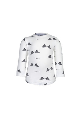 nOeser Longsleeve wings - wit