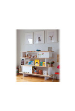 Oeuf NYC Mini library - walnoot