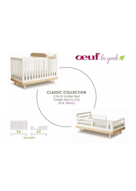 Oeuf NYC Classic conversion kit wit van babybed naar kleuterbed