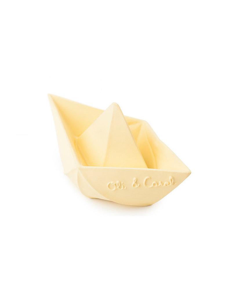 Oli & Carol Origami bootje - beige