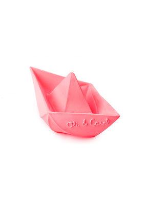 Oli & Carol Origami bootje - roze