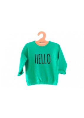 organicZOO Hello Sweatshirt - green