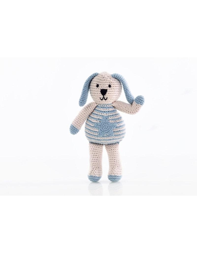 Pebble Knuffel met een missie - blauw