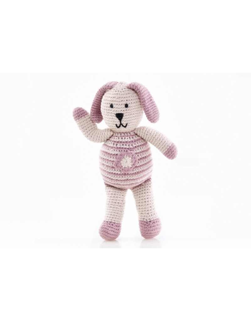 Pebble Knuffel met een missie - roze