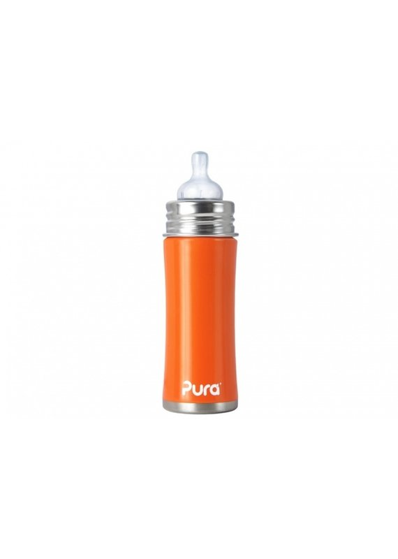 Pura Trendy babyfles 325 ml | orange