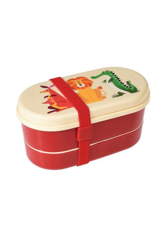Rex international Bento box colourful creatures