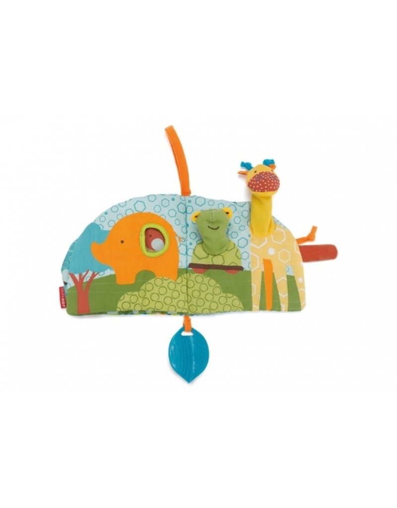 Skip*Hop Giraf safari puppet activity book