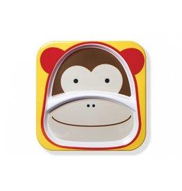 Skip*Hop Bord met ZOO diertjes - aap
