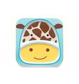 Skip*Hop Bord met ZOO diertjes - giraf