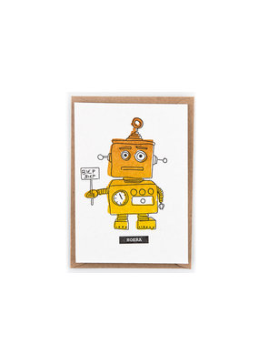 Studio Flash Greeting card - biep biep