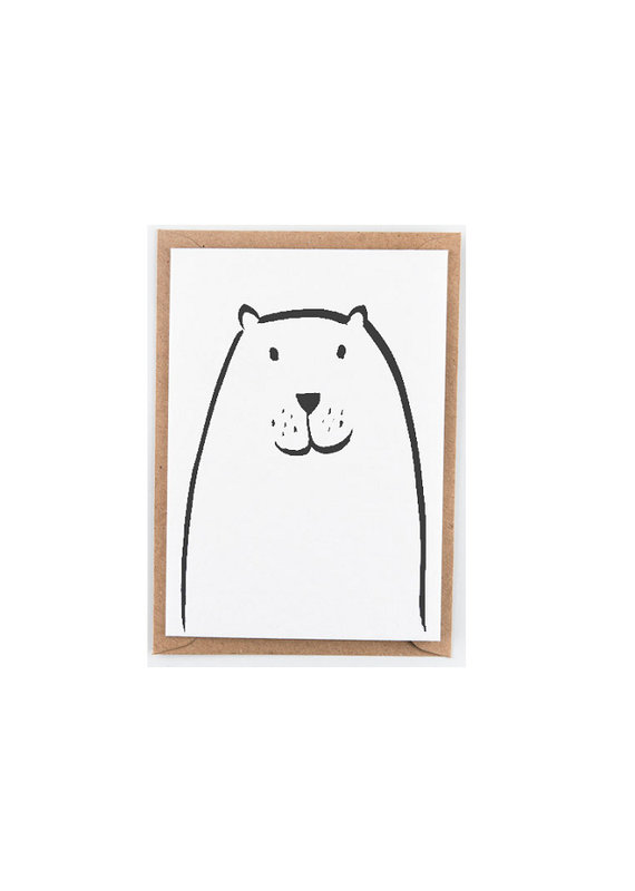 Studio Flash Greeting card - walrus