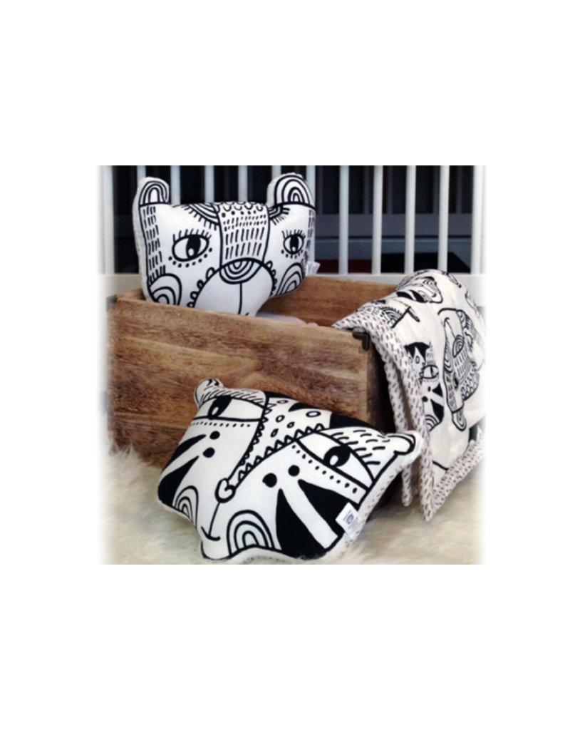 Wee Gallery Kussen - tijger