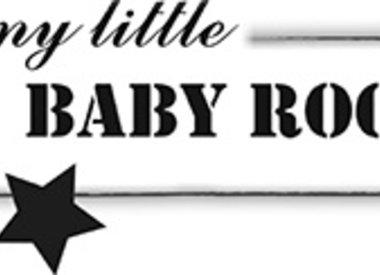 My little baby rock