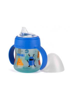 Suavinex Booo Flesje met handgrepen (150 ml) - blauw