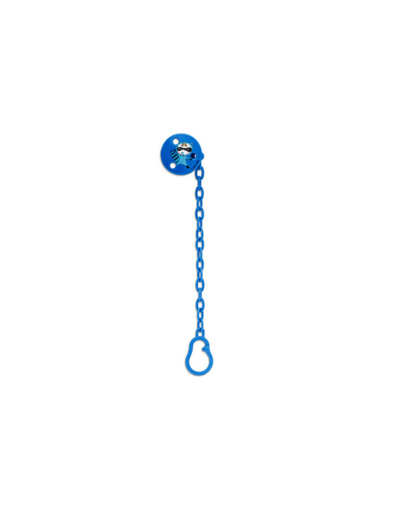 Suavinex Fopspeenketting - blue hero