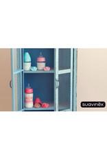 Suavinex Glazen fles Suavinex 110ml - roze