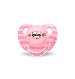 Suavinex Trendy fopspeen anatomisch latex +6m - pink hero