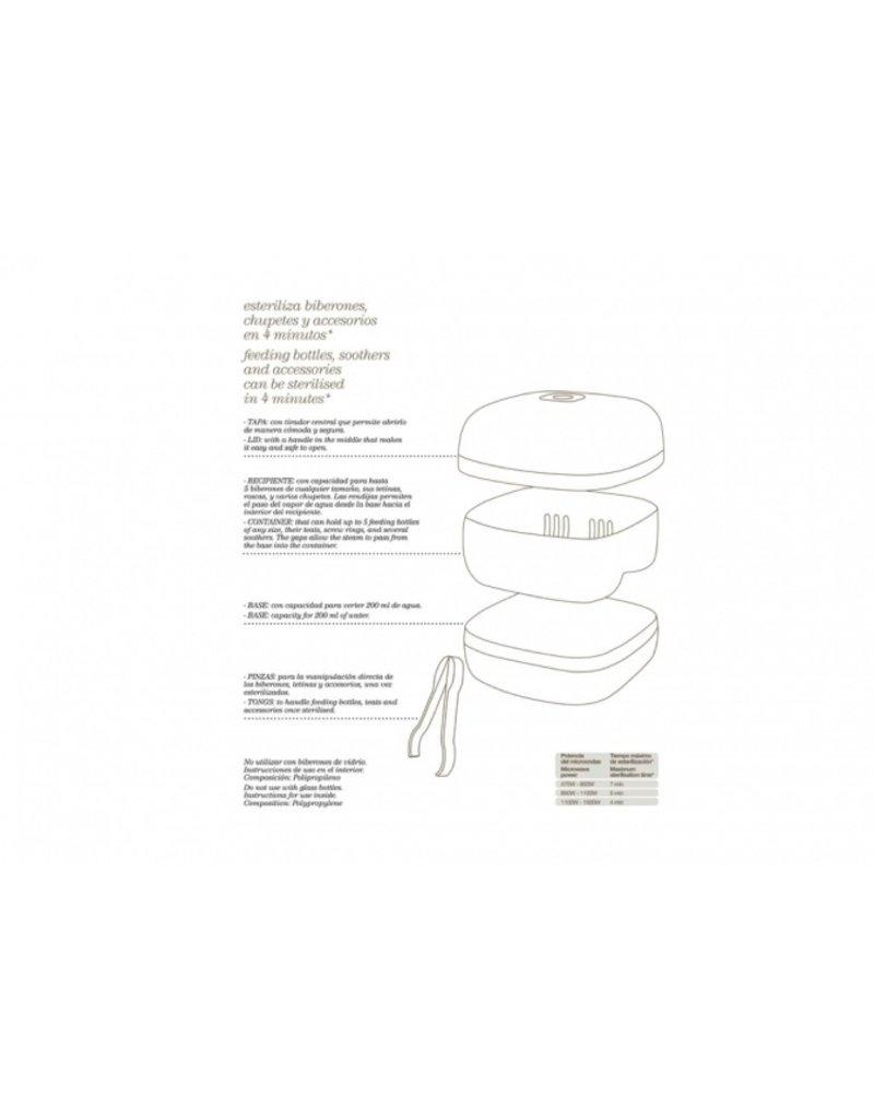 Suavinex Sterilisator voor magnetron