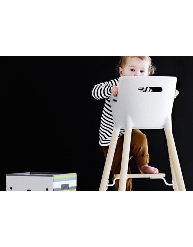 Flexa Baby Kinderstoel - wit/blank gelakt