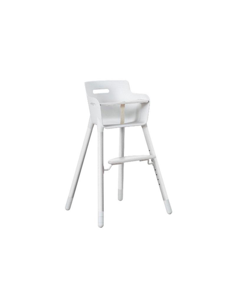 Flexa Baby Kinderstoel met tafelblad - wit