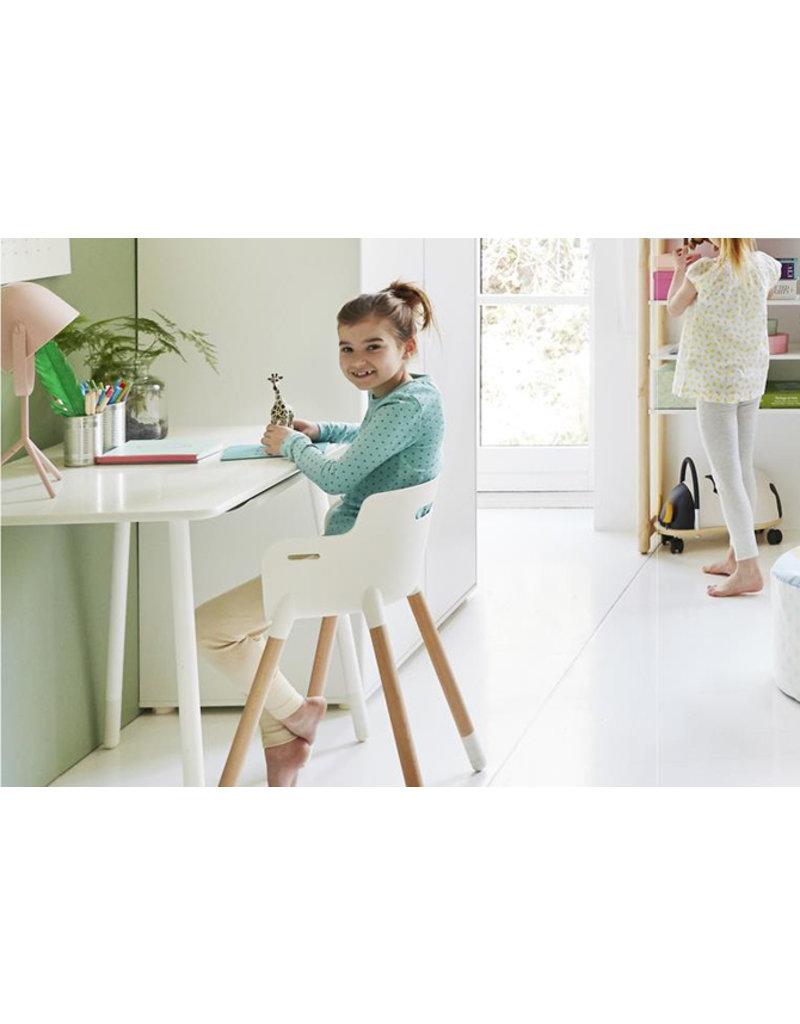 Flexa Baby Junior stoel - wit/blank gelakt