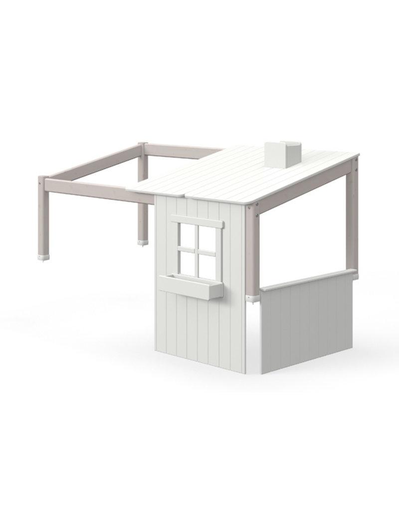 Flexa Half Classic Huis één venster - Grey wash