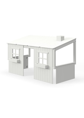 Flexa Half Classic Huis met 2 vensters - White washed