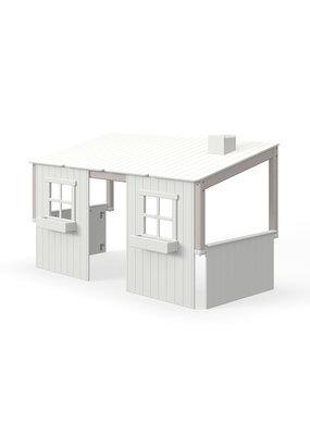 Flexa Half Classic Huis met 2 vensters - Grey wash