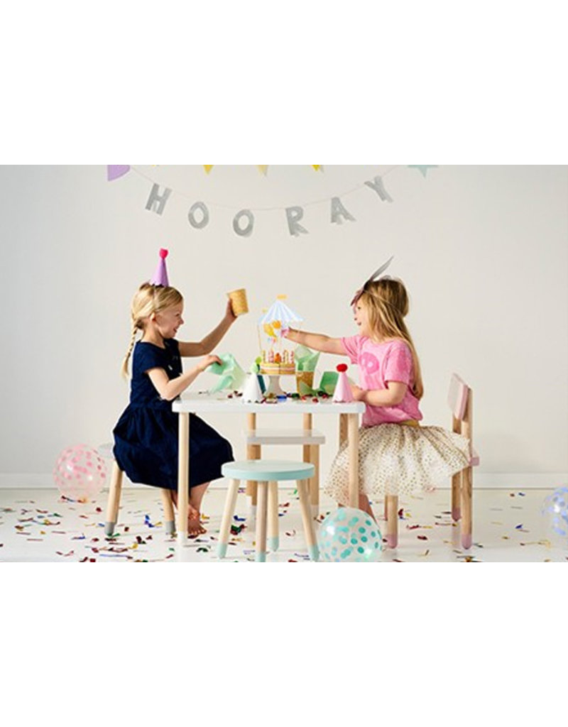 Flexa Kids stoel - lichtblauw