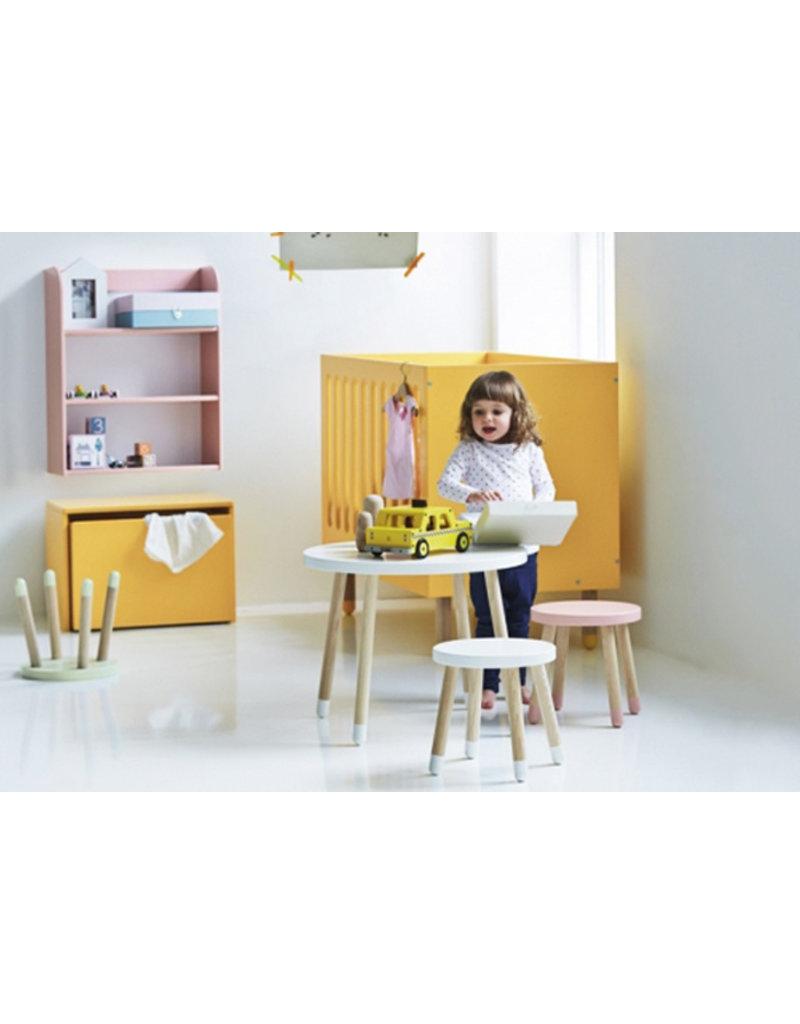 Flexa Play Kinderspeeltafel essenhout - roze