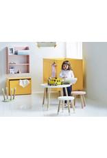 Flexa Play Kinderspeeltafel essenhout - lichtblauw