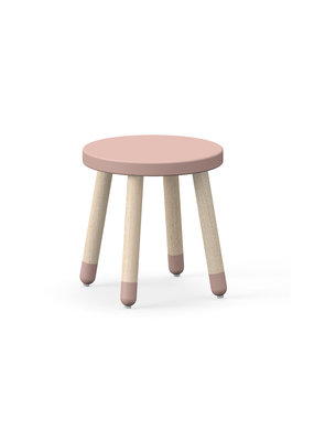 Flexa Play kinderkrukje essenhout - roze