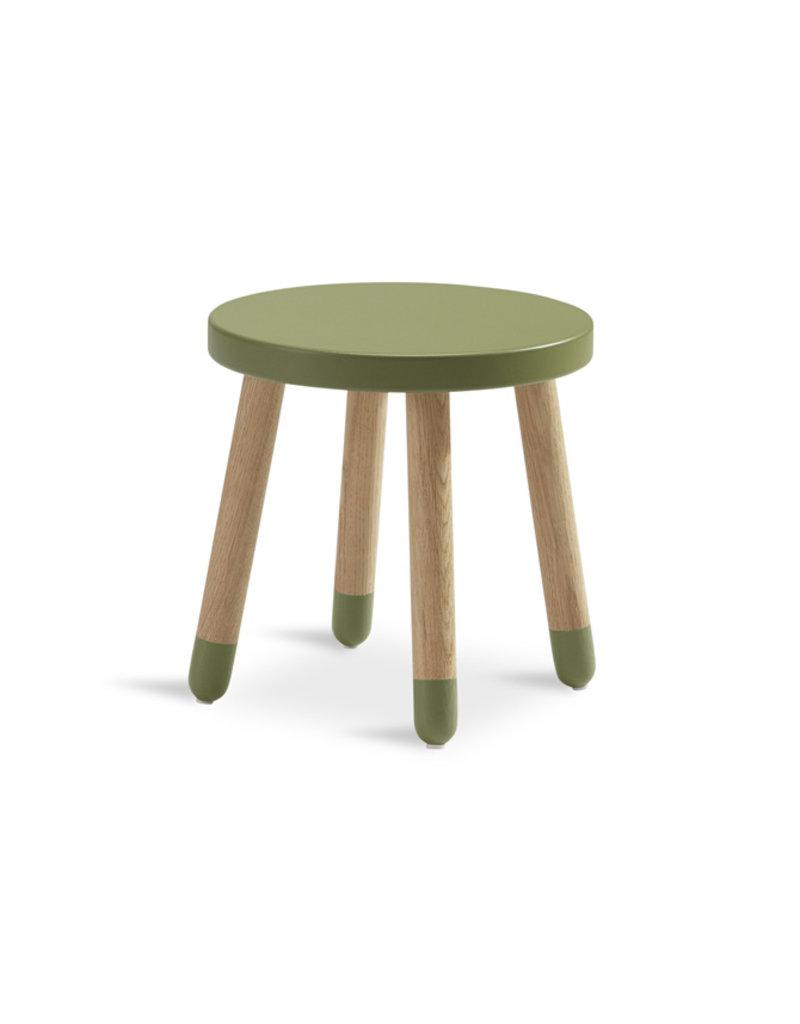 Flexa Play kinderkrukje eikenhout -kiwi
