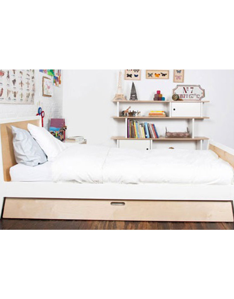 Oeuf NYC Juniorbed Twin bed Sparrow
