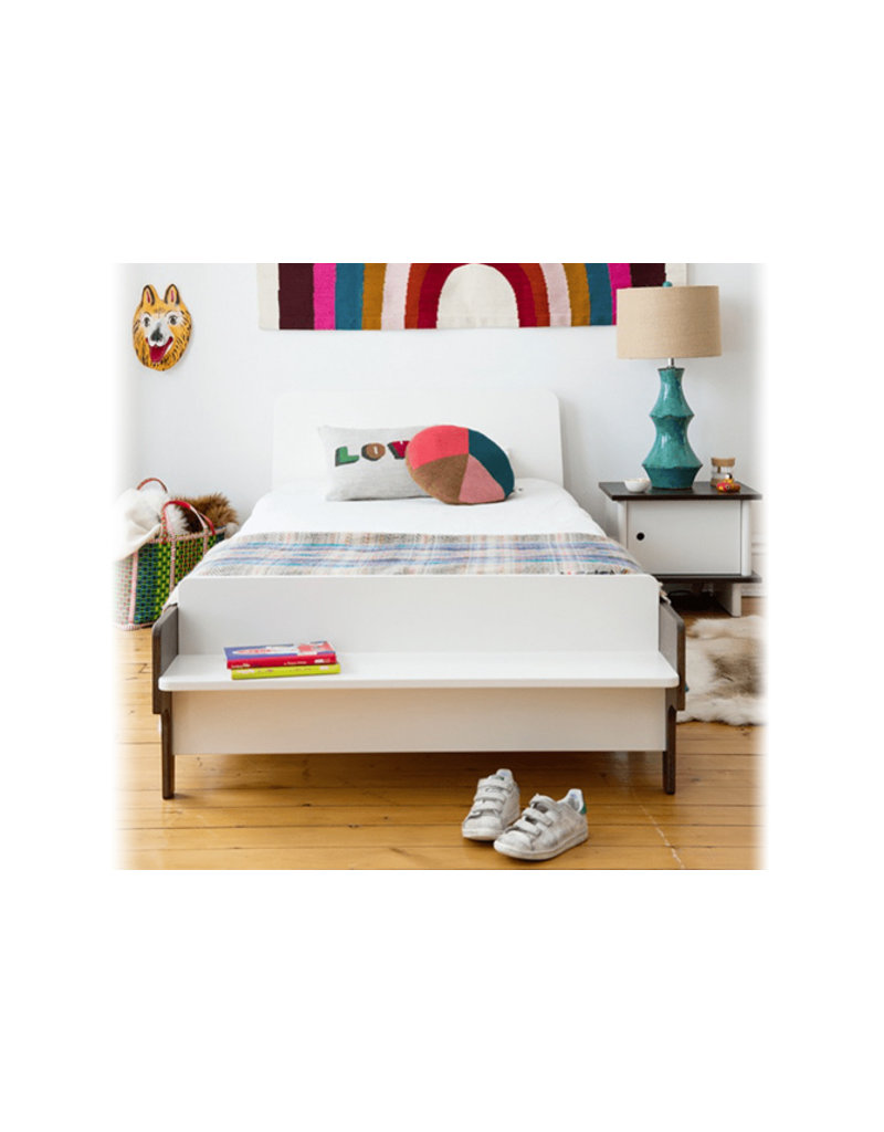 Oeuf NYC Juniorbed Twin bed river - walnoot