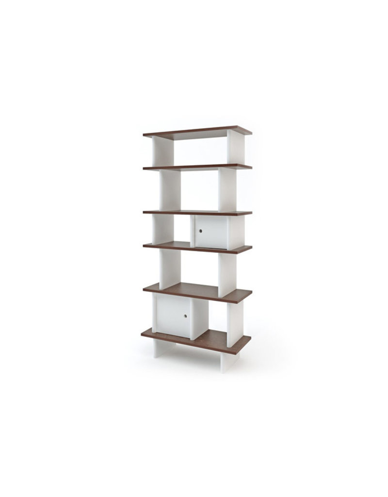 Oeuf NYC Vertical Mini Library - walnoot