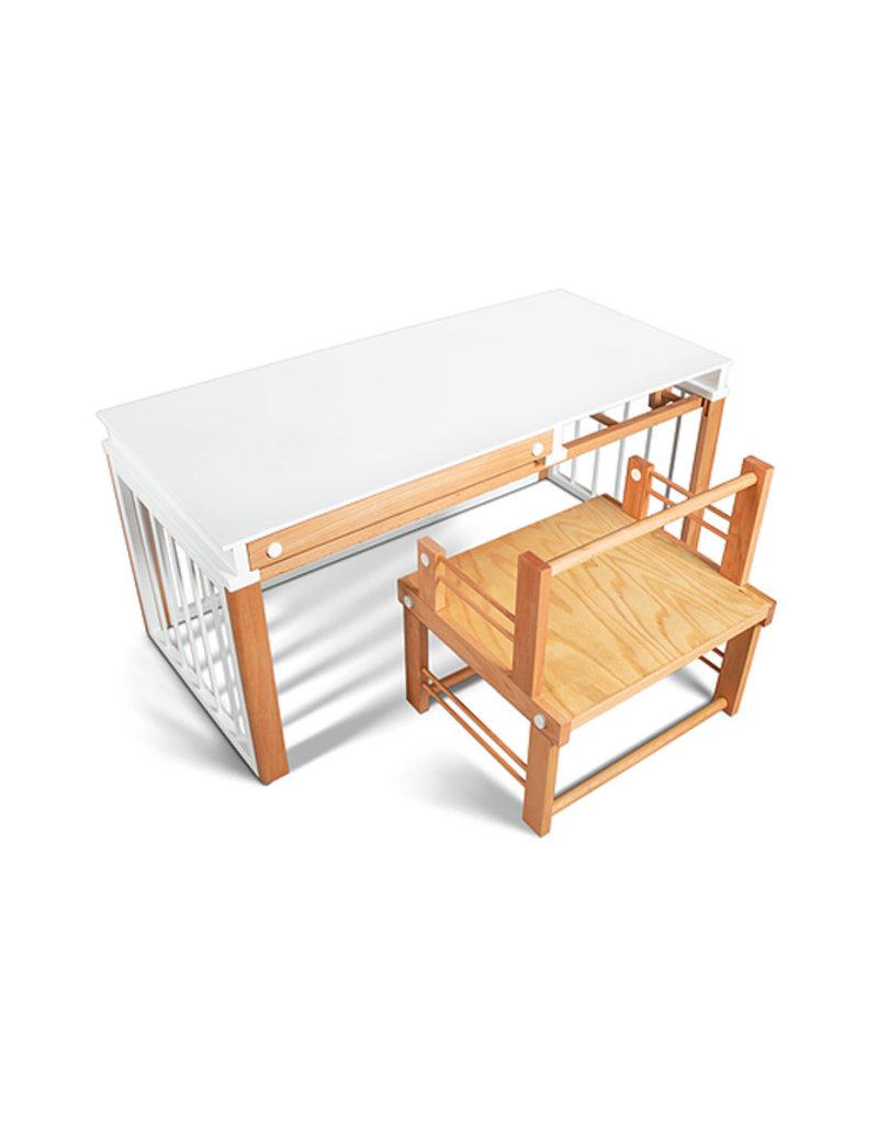 Dreamer Tafel en stoel ombouwset voor Premium wieg