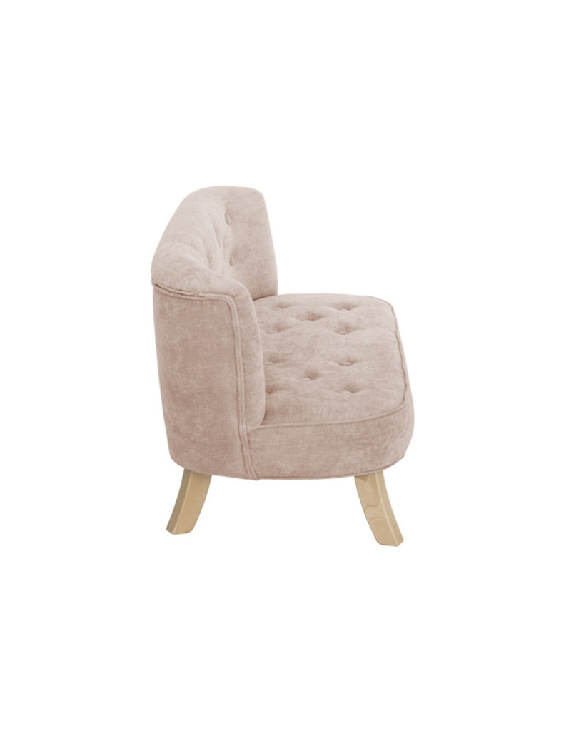 Somebunny Kindersofa Royal Velvet | Dusty Pink