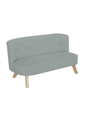 Somebunny Kindersofa Royal Velvet | Grey Velvet