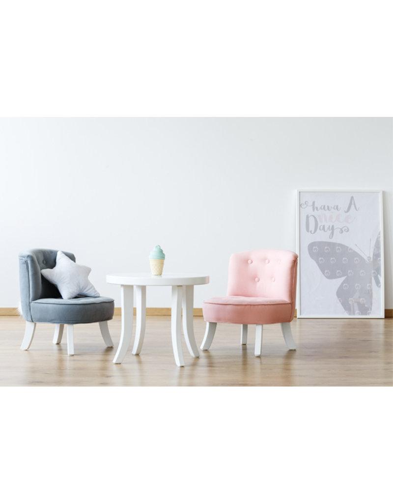 Somebunny Kinderzetel Eco Linen | Powder Pink